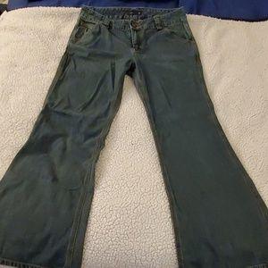 Super cute J. Crew wide leg jean's, size 10!!